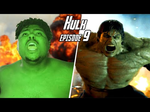 The Hulk Transformation Episode 9 | A Short film VFX Test