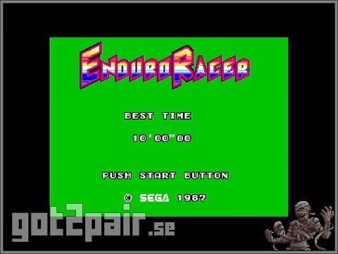 Enduro Racer - Master System