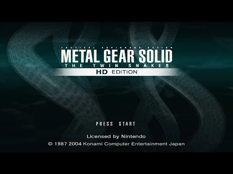 Dolphin 5.0 - METALGEAR SOLID TWIN SNAKE (HD Texture/WIDE/SweetFX)