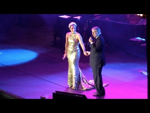 Tony - Lady Gaga performing with Tony Bennett at La Grand Place in Brussels, Belgium Part1 Lady Gaga performing with Tony Bennett at La Grand Place in Brussels for the purpose of a video clip, Belgium...