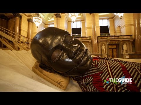 Giants Liverpool: Little Boy Giant Sleeps In St George's Hall | The Guide Liverpool