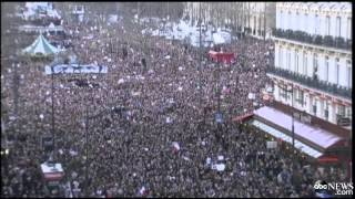 Paris March: Millions Attend 'Cry for Freedom' Rally for Unity