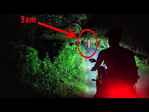 Ghost In The Highway Caught On Camera 2020 Scary 3am Vlogs