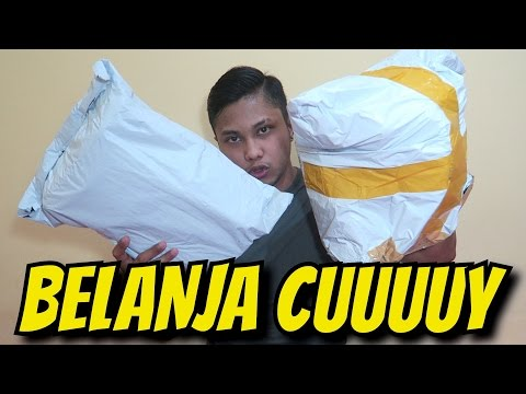 UNBOXING BARANG DARI CHINA + GIVEAWAY | AA UTAP