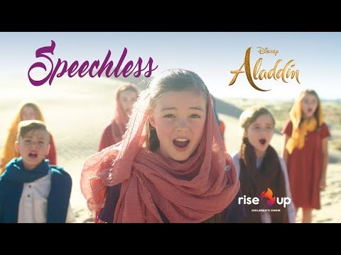 """Naomi Scott - Speechless From """"Aladdin"""" - Cover by Rise Up Children's Choir"""