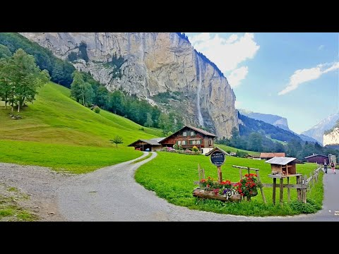 Lauterbrunnen, Switzerland's most beautiful Village