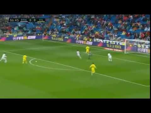 Real Madrid - Villarreal / Pablo Fornals  0 - 1 GOAL 13.01.2018