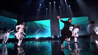 PSY Gangnam Style on American Music Awards with MC Hammer - 싸이 AMA  강남스타일 (HD Version)