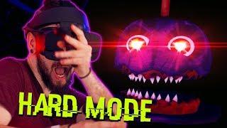Five Nights At Freddy's VR HARD MODE (FNAF VR)