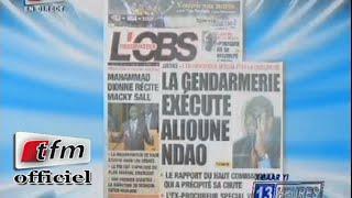 Revue de presse - 12 Novembre 2014 - Présentation: Mamadou M.Ndiaye