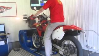 10. Honda XR650R Dyno