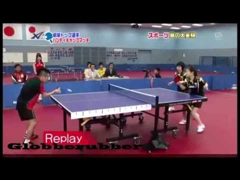 Crazy Japanese Table Tennis Stuff!