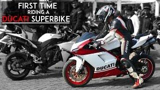 10. First Time Riding a Ducati Superbike   848 Evo   RWR