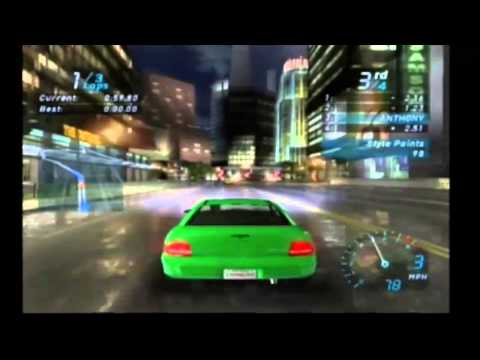 need for speed carbon gamecube cheat