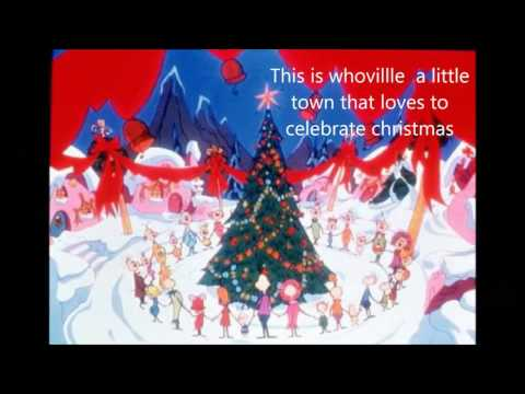 The Grinch who stole Christmas book trailer