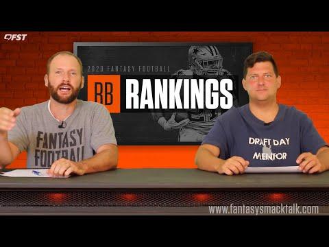 2020 Fantasy Football Running Back Tiers and Rankings thumbnail