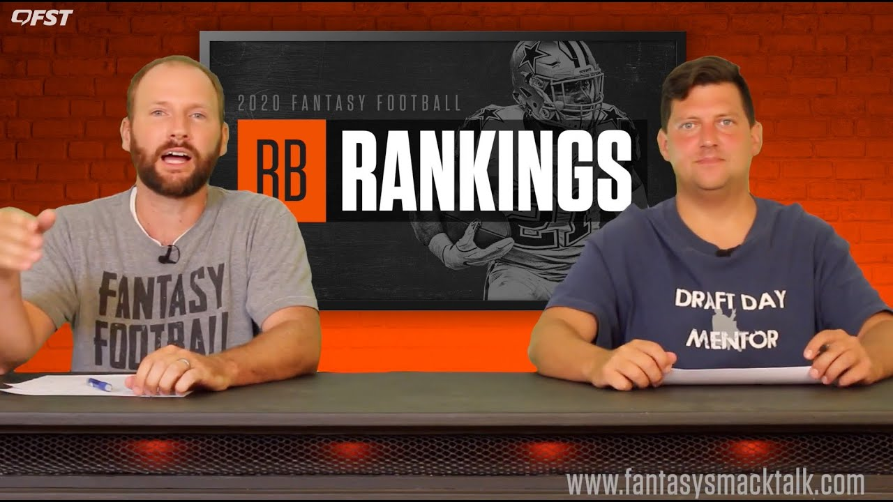 2020 Fantasy Football Running Back Tiers and Rankings thumbnail