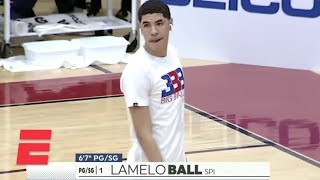 LaMelo Ball, Spire Institute teammates show out in win   High School Basketball Highlights