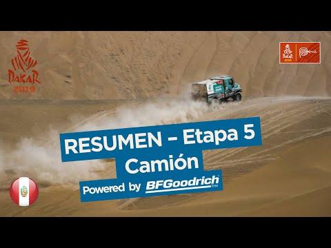 Dakar - Etapa 5 - resumen camiones