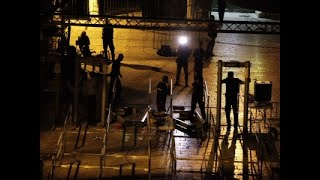 Israel has begun dismantling metal detectors from the gates of a contested Jerusalem shrine. The removal is meant to defuse escalating Israeli-Muslim tensions. Israel installed the detectors after an Arab attack killed two Israeli police guards. (July 25)Subscribe for more Breaking News: http://smarturl.it/AssociatedPress