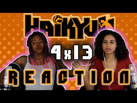 Haikyuu 4x13 REACTION!! (THE THIRST IS SO REAL)
