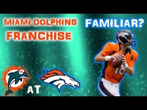 KILLER THIRD QUARTER! | NFL 2k5 Miami Dolphins Franchise Rebuild | Ep14 S1G13 at Broncos