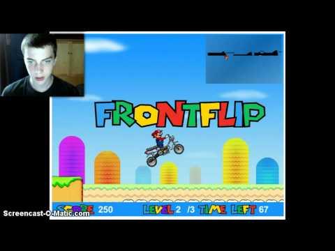 Super Mario Moto gameplay