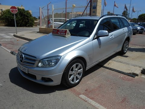 Ver vídeo MERCEDES C 180 KOMPRESSOR ESTATE
