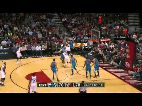 New Orleans Hornets 93 – Portland Trail Blazers 99