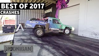 Video [HOONIGAN] DTT 185: Crashes and Other F-Ups - Best of 2017 MP3, 3GP, MP4, WEBM, AVI, FLV Juni 2018