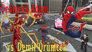 Video Örümcek Adam, Şimşek Mcqueen - Afacan ve Demir Örümcek Adam Karşı Karşıya MP3, 3GP, MP4, WEBM, AVI, FLV November 2017