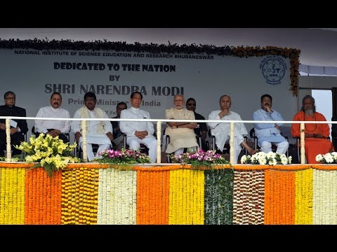 PM Modi inaugurates National Institute of Science Education and Research in Odisha