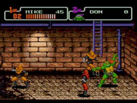 sega genesis - teenage mutant ninja turtles - the hyperstone heist download