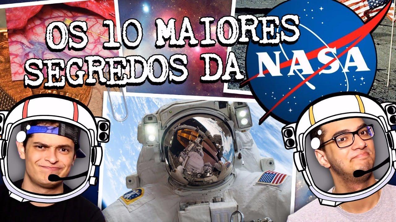 Os 10 maiores segredos da  NASA