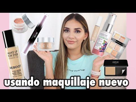 maquillaje con productos nuevos | Giovanna Espinoza