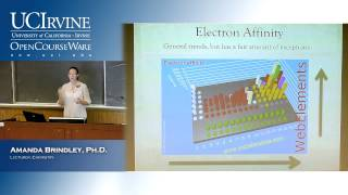 General Chemistry 1A. Introduction To Chemistry. Lecture 07. Periodic Trends Continued