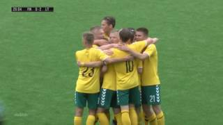 Lithuania goals in U19 Baltic Cup 2017 (born 1999 or later)