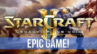 Video StarCraft 2: Legacy of the Void - EPIC GAME! Lowko vs Nathanias