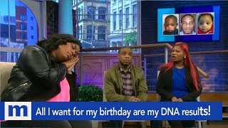 All I want for my birthday are my DNA results! | The Maury Show