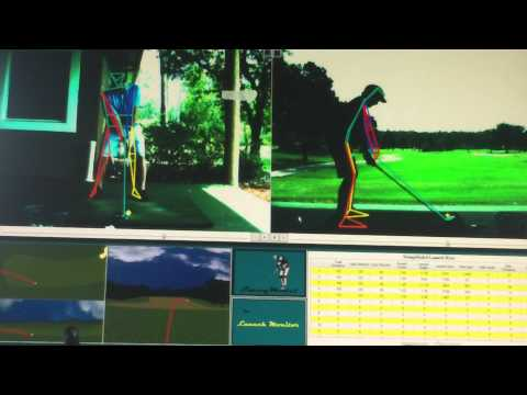 Golf Lesson using Swing Model and Flight Scope Technology