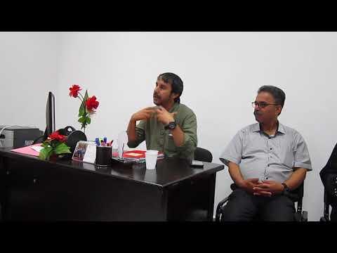 خالد ديمال خلال انتخابه رئيسًا لمنتدى البيئة بإقليم العرائش