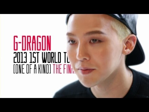 G-DRAGON 2013 1ST WORLD TOUR [ONE OF A KIND] THE FINAL (English ver.)