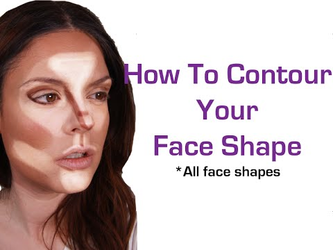 How to Contour Your Face Shape (makeup for beginners)