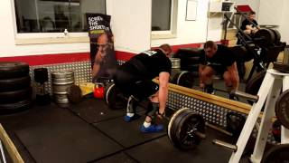 Deadlift 5x 330 kg Wildauer - 16.01.2016