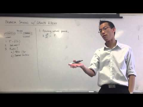 Exponential Growth Example (1 of 2)