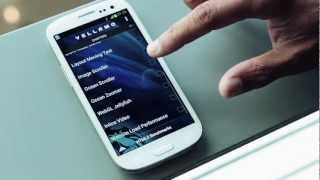 Vellamo Mobile Benchmark YouTube video