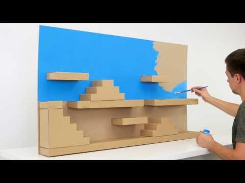 How to Build Super Mario Style Maze for Rat (видео)