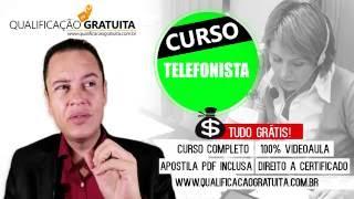 CURSO TELEFONISTA
