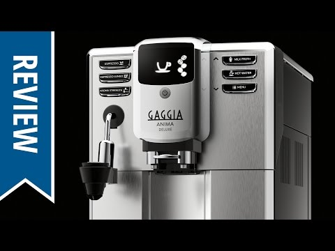 Review: Gaggia Anima Deluxe Espresso Machine