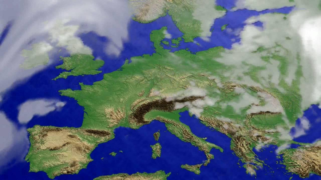 Cloud forecast Europe 2016-07-15